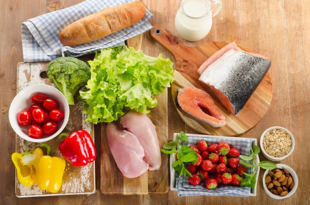 правильный рацион питания на каждый день