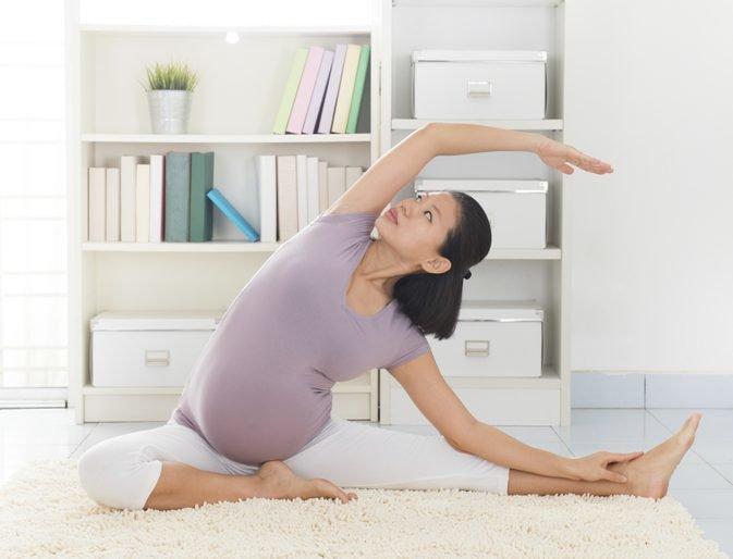 какие упражнения разрешены беременным