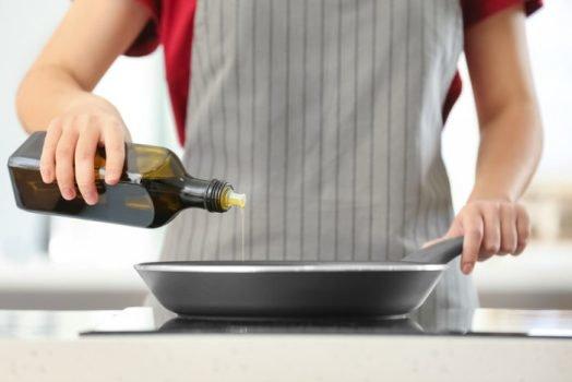готовить на оливковом масле