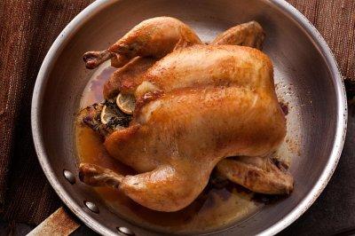 Как выглядят 100 граммов курицы?