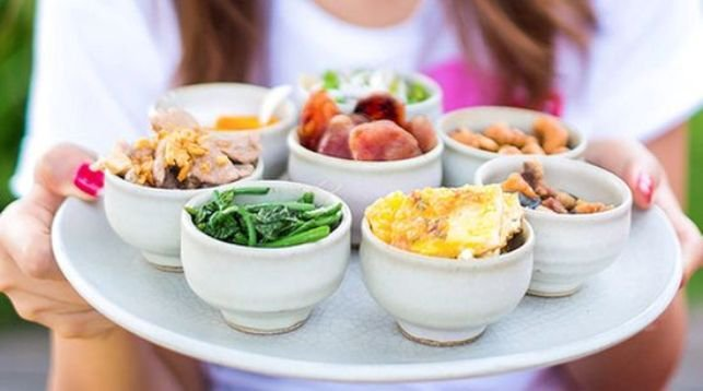 Употребление пищи маленькими порциями