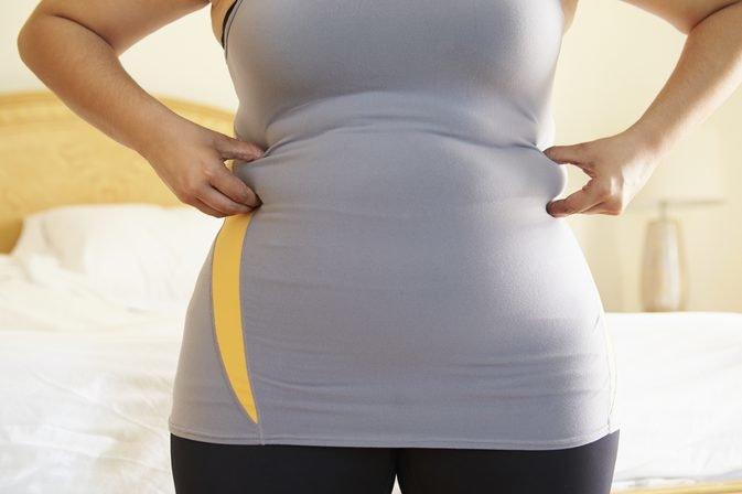 Скопление подкожного жира