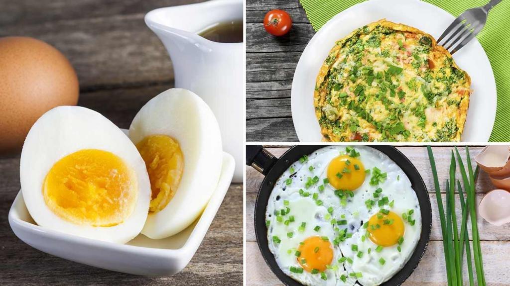 калорийность пары яиц