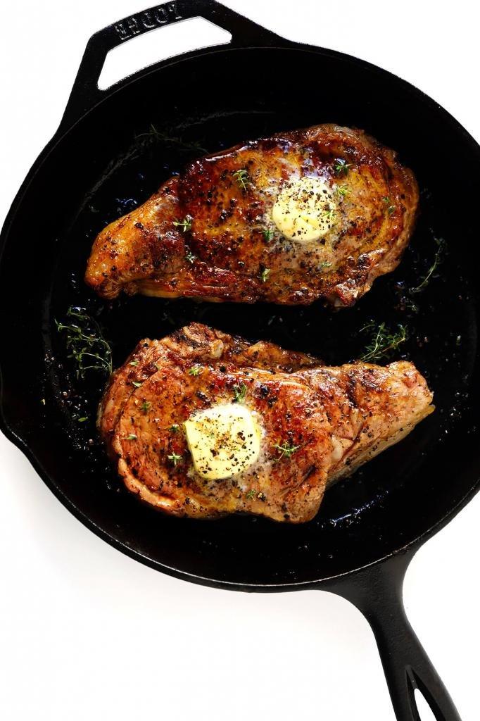 Мясо в сковородке