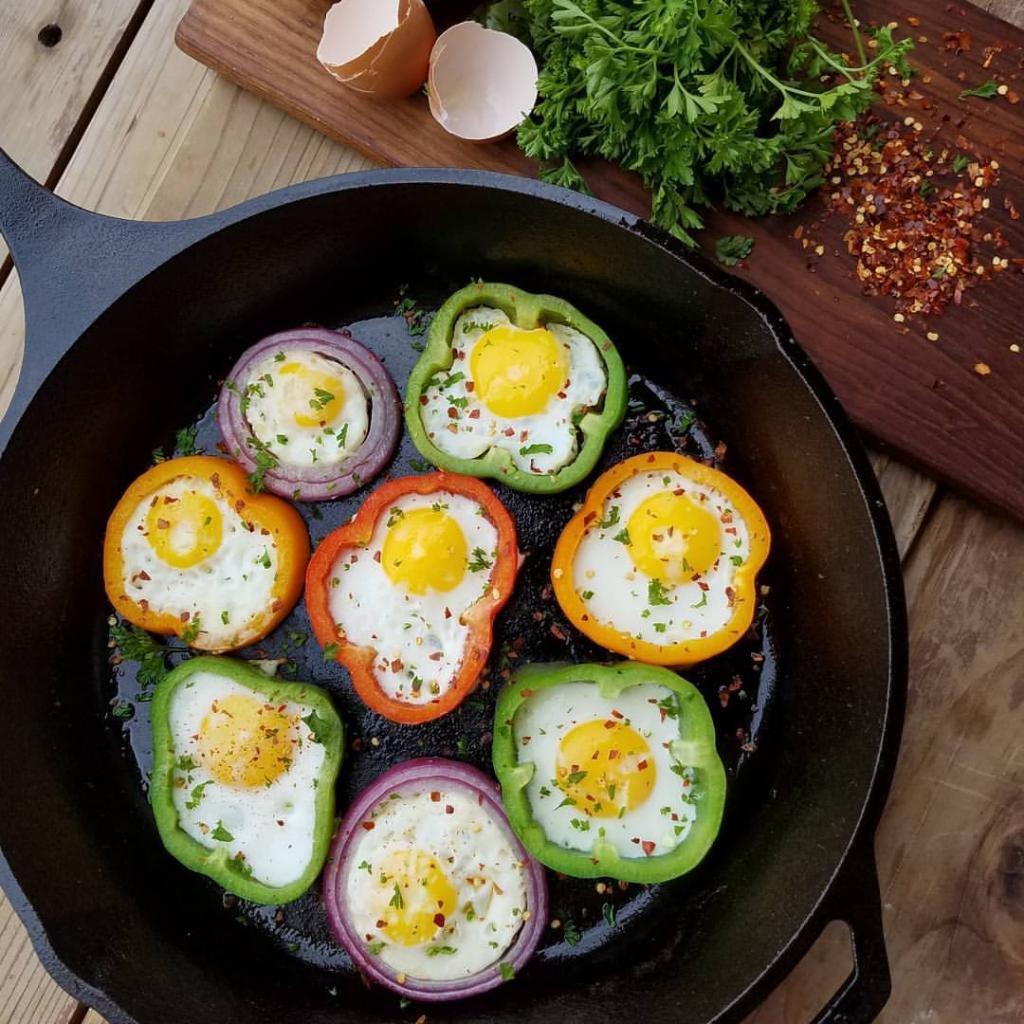 Яйца в перце