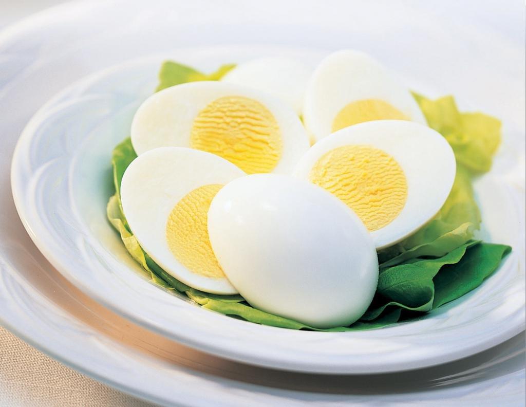 Яйца в форме сердца