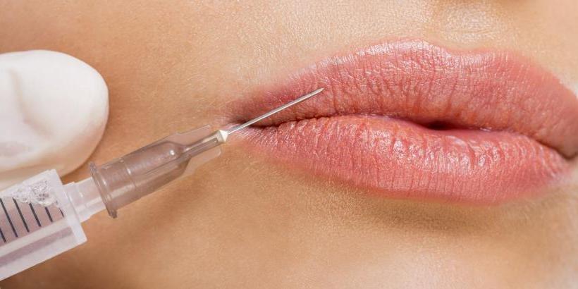 Коррекция губы