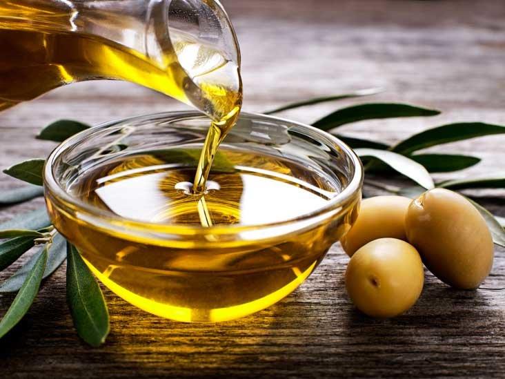 оливковое масло или подсолнечное
