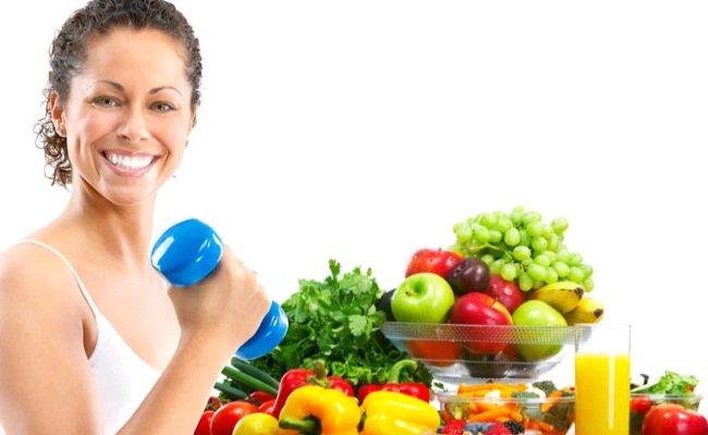Правильное питание для девушек