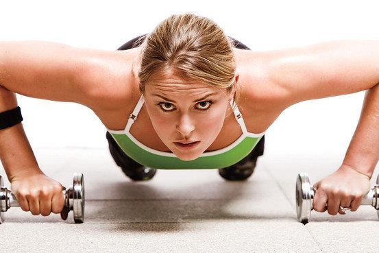женщина атлет