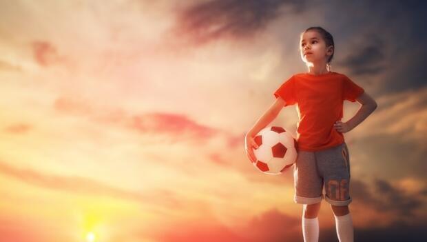 маленький спортсмен