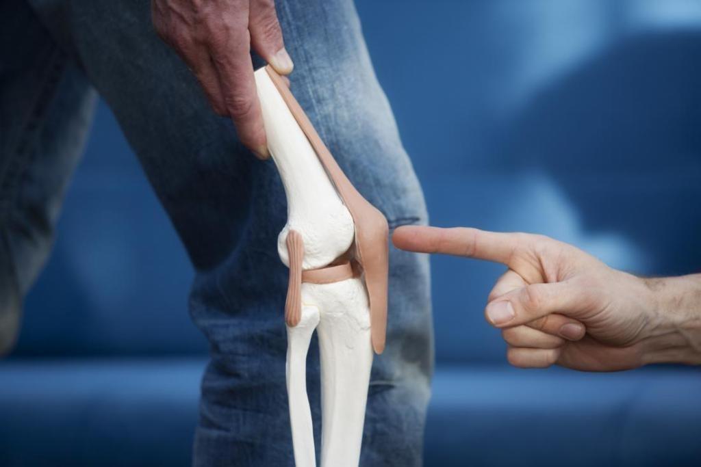 колено прыгуна симптомы