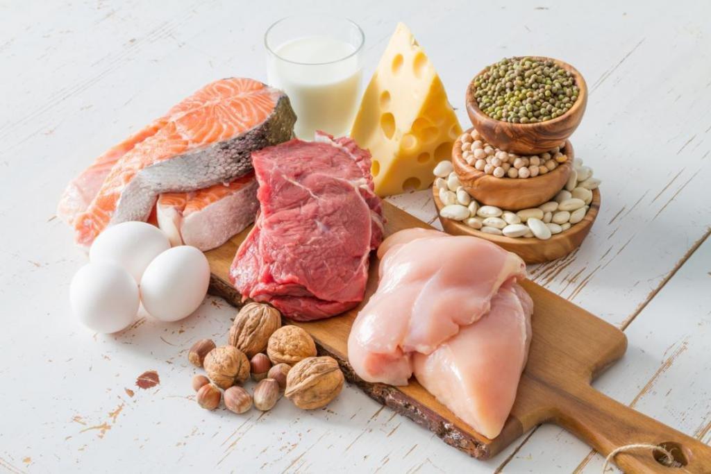пища, богатая белками