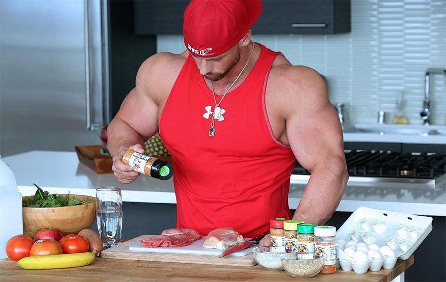 как набрать массу мышц
