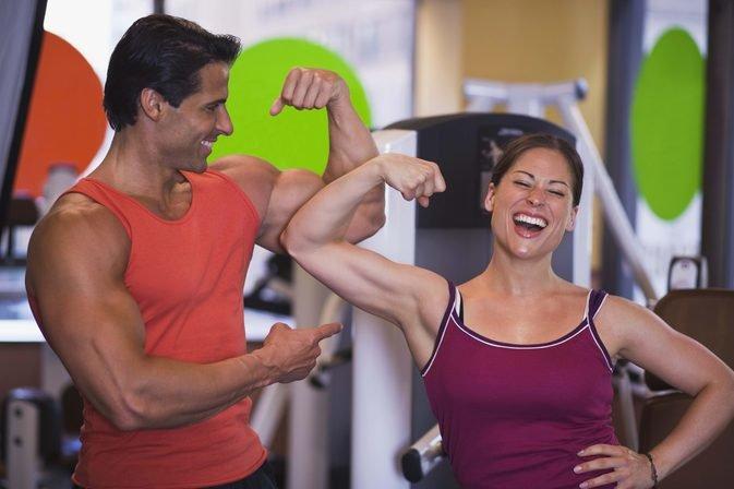 похудение без потери мышечной массы