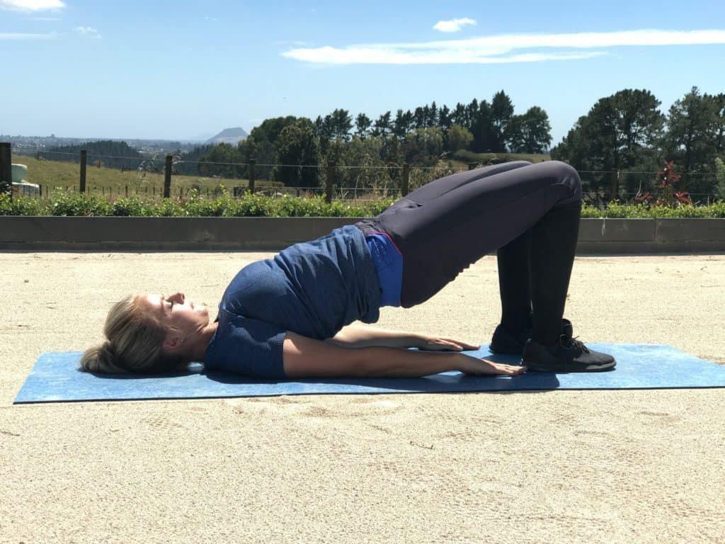 Упражнение из лечебной гимнастики