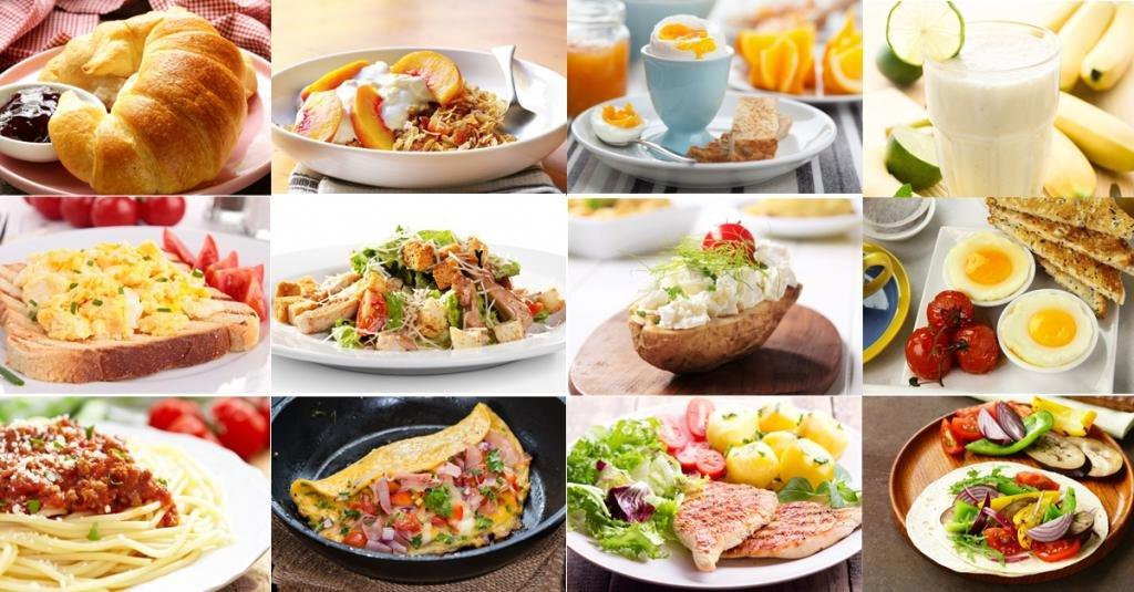 Различные блюда