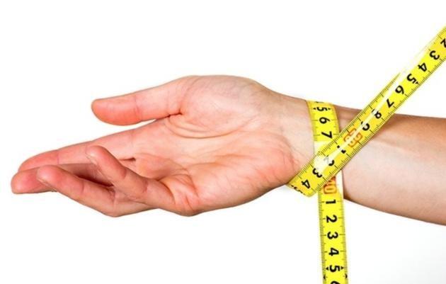 Определение типа телосложения по запястью
