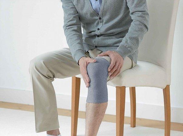 Бинт на колене