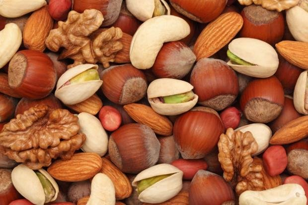 Какие кушать орехи