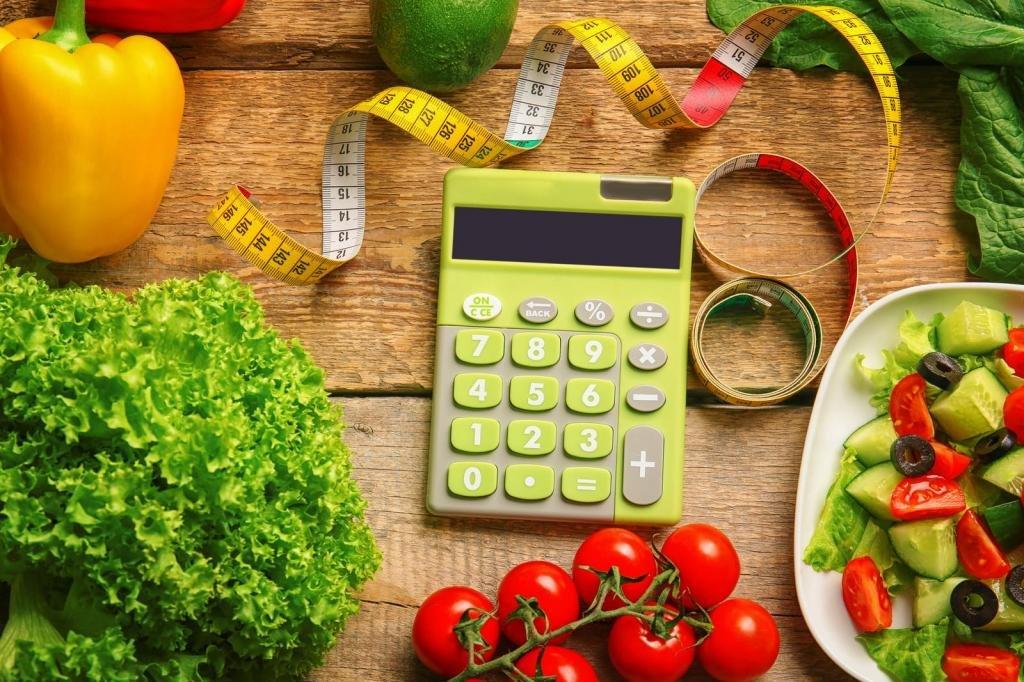 Калькулятор калорий диеты