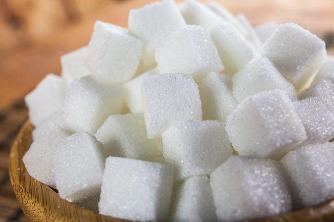 Рафинад - очищенный сахар в кусках.