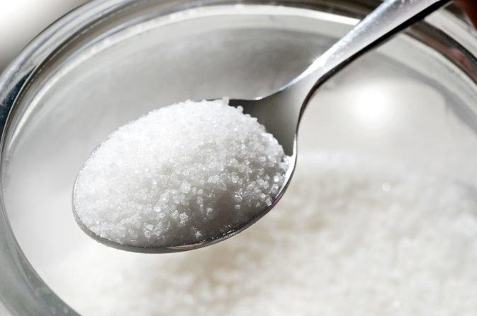 Сколько весит чайная ложка сахара?