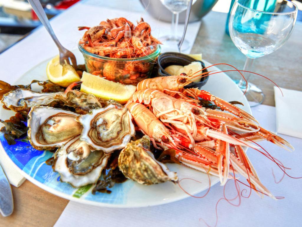 Употребление морепродуктов при дефиците йода