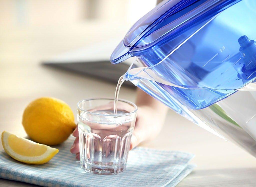 если пить 2 литра воды в день