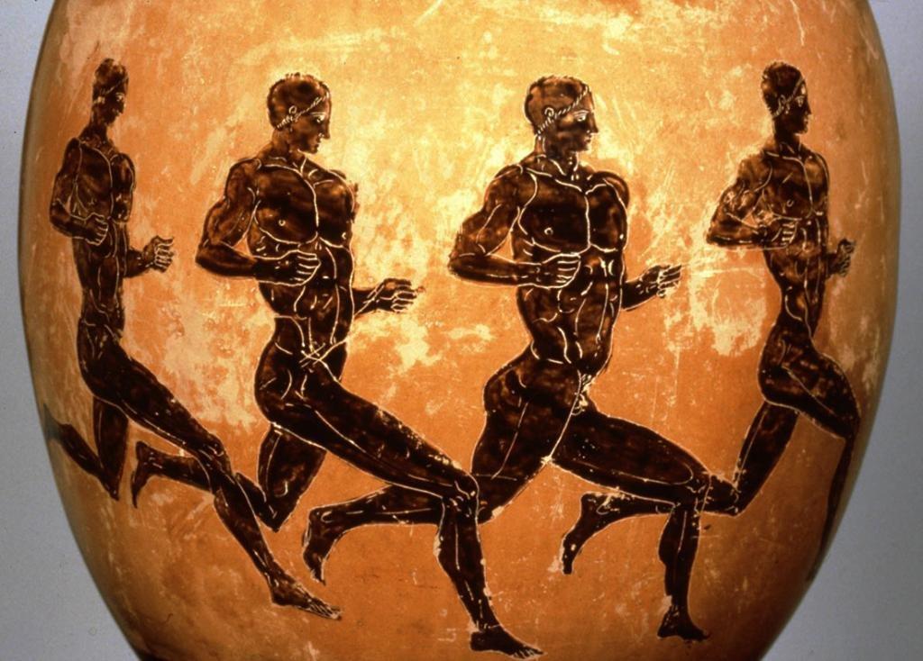 атлетика в Древней Греции