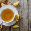 Чай с имбирем: польза, вред, рецепты приготовления