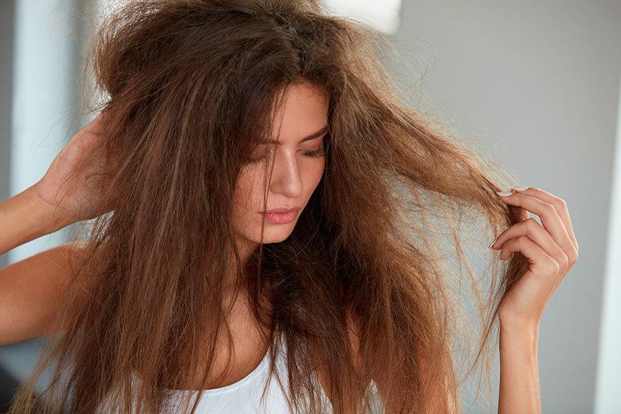 плохое состояние волос