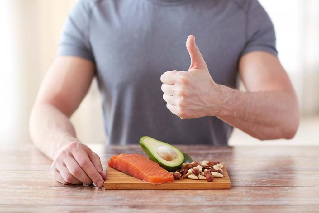 Здоровое питание мужчин