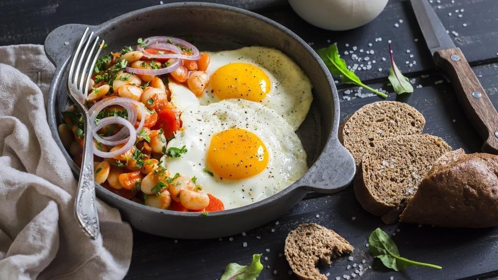 яичница как правильное питание