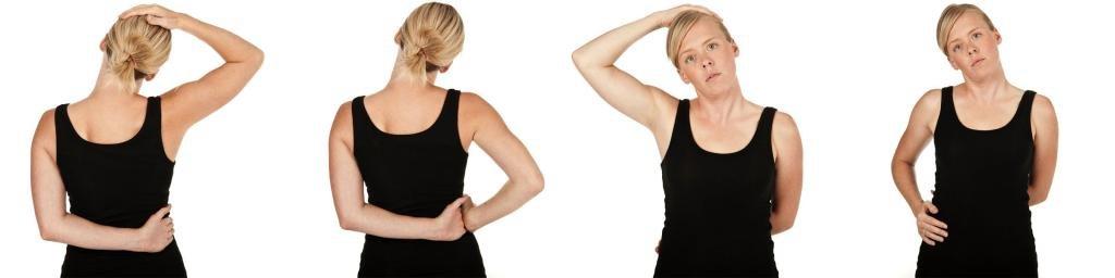 Растягивание мышц шеи