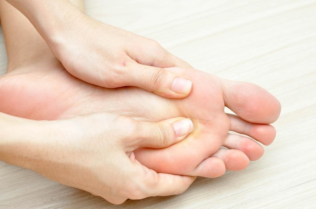 массаж шиацу для ног