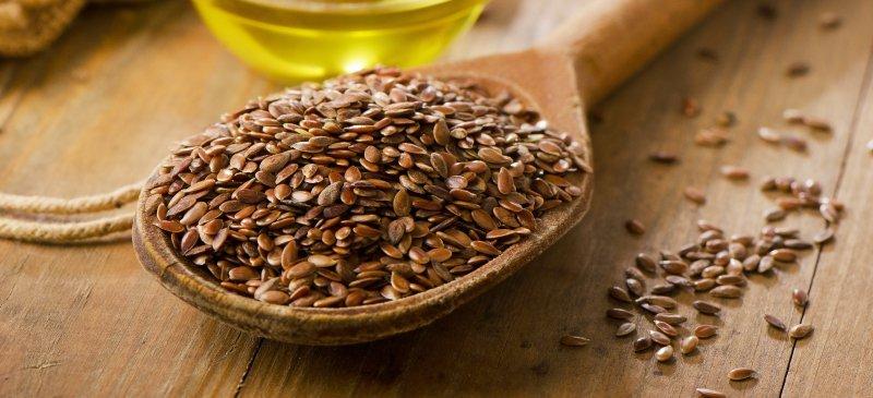 семя льна для похудения и очищения кишечника