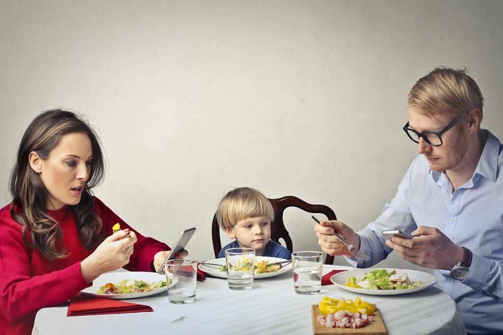 ужин с ребенком