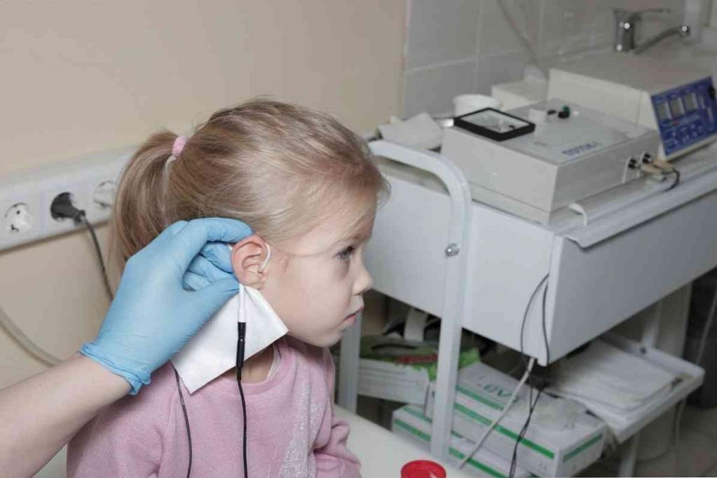 Ребенок в физиокабинете