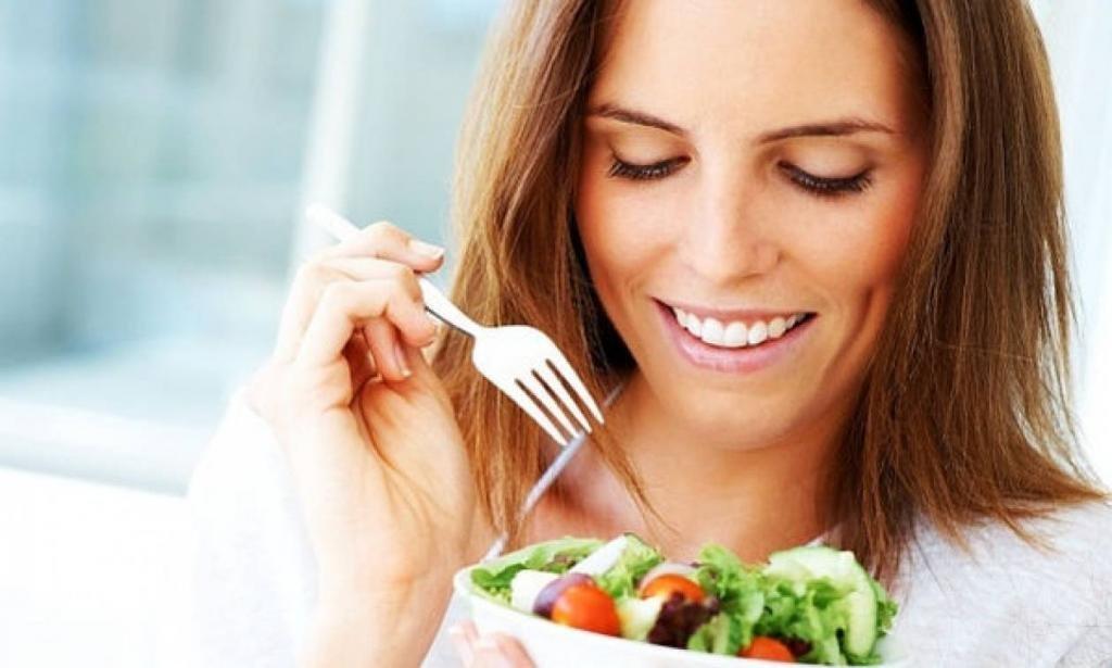как правильно питаться меню