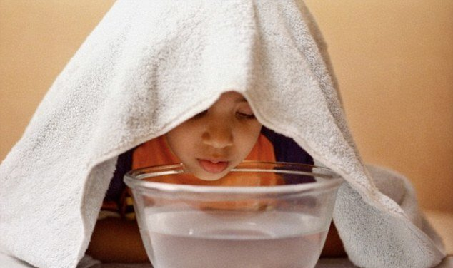 дышать над картошкой при кашле ребенку