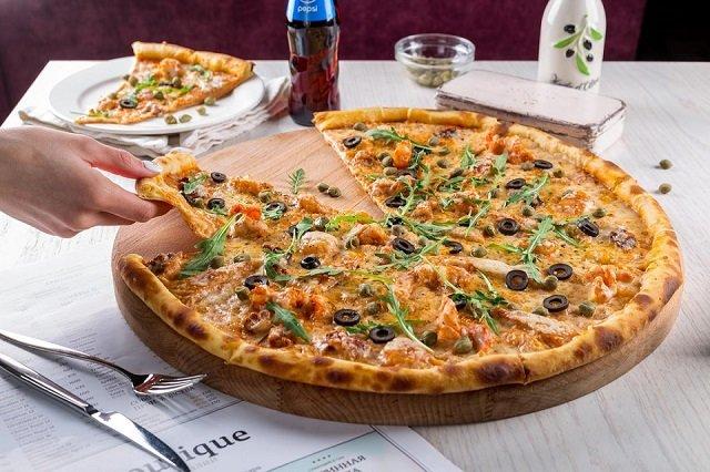 пицца на читмил