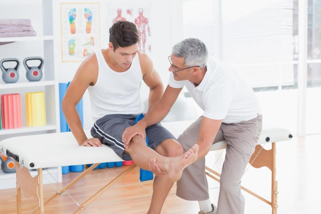 травма колена у человека
