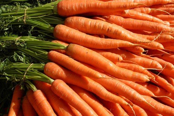 содержание в моркови