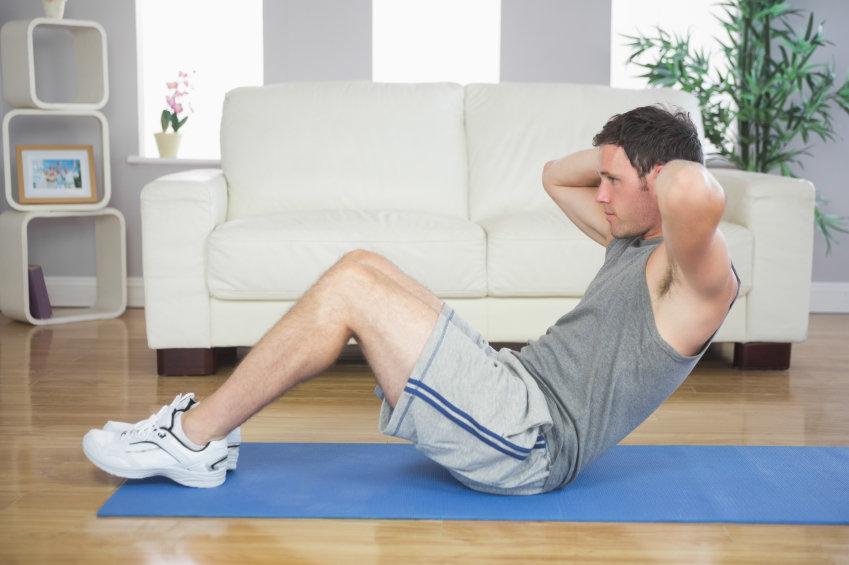 Зарядка для спины и позвоночника