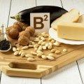 Витамин В2: свойство, описание, суточная норма. В каких продуктах содержится витамин Б2?